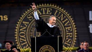 Howard Schultz at ASU's 2017 Undergraduate Commencement | Arizona State University