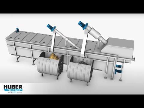 Animation: HUBER Kompaktanlage ROTAMAT® Ro5