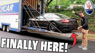 Taking Delivery Of My New Maserati Granturismo MC!!