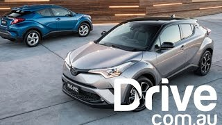 2017 Toyota C-HR First Drive Review | Drive.com.au