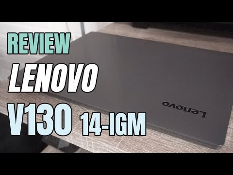 Notebook Lenovo V130-14IGM: Unboxing & Review !