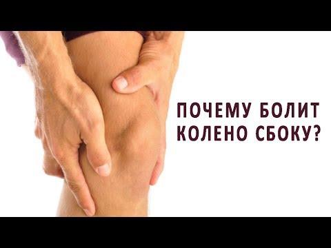 Причины болей в колене сбоку или с внутренней стороны