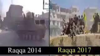 Terör örgütü PKK'nın Rakka'ya girişi!