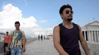 アキーラさん通行①旧ユーゴスラビア・マケドニア・スコピエ・オスマントルコ朝時代に建てられたの石橋,Stone-bridge,Skopje,Macedonia