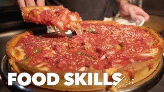 The Perfect Deep-Dish Pizza, According to Emmett Burke   Food Skills