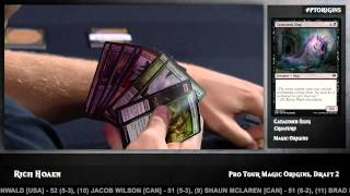 Pro Tour Magic Origins Day 2 Draft: Rich Hoaen