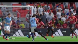 Manchester United - Manchester City prediction fifa 19