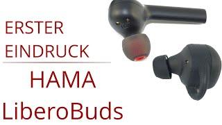 Unboxing HAMA True Wireless Kopfhörer - Hama Style und Hama LiberoBuds erster Eindruck