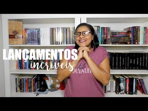 LANÇAMENTOS LITERÁRIOS PARA 2018 |  Jé Vasques