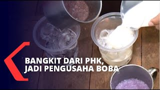 Kisah Korban PHK yang Sukses Rintis Usaha Minuman Boba, Omzet Puluhan Juta Per Bulan