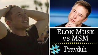 Elon Musk Truth about MSM Twitter Media outraged