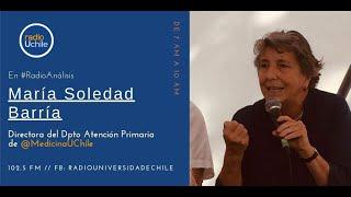 María Soledad Barría y el manejo del gobierno de la pandemia