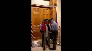 Georgia Rep. Park Cannon arrested outside governor's office
