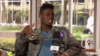 University of Miami TE David Njoku on His Large Competitive Family - 3/22/17