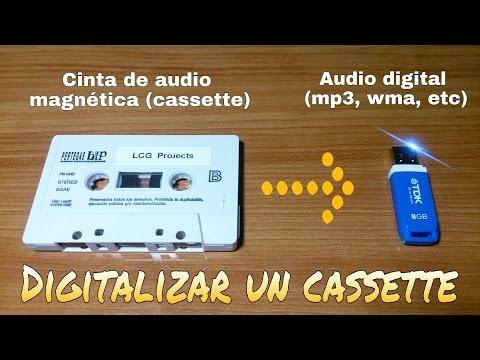 CÓMO DIGITALIZAR CINTAS MAGNÉTICAS DE AUDIO (CASSETTES)