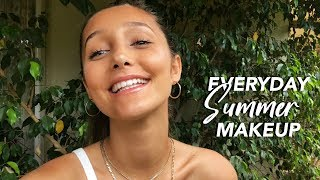 Everyday Glowy Summer Makeup Routine (natural)