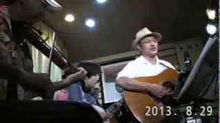 We'll meet again sweetheart by Uphill String Band at Happon in Tokyo, August 29, 2013