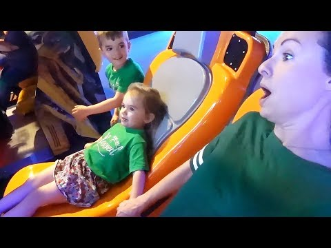 Download Her First Rollercoaster Ride!   Sam & Nia Mp4 HD Video and MP3