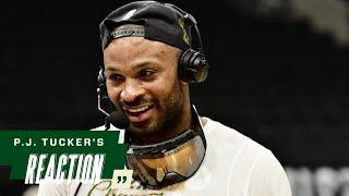 P.J. Tucker NBA Finals Game Six Media Availability | 7.20.21