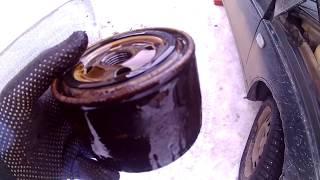 Замена масла ВАЗ 2112 ,2111 и 2110 без ямы и подъемника !