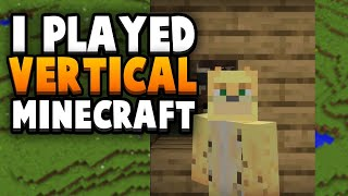 You Can Only Watch This Minecraft Video Vertically...