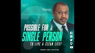 🛑Is It Possible For A Single Person To Live A Clean Life?