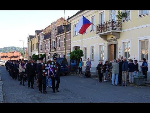 Pietní akt k uctění obětí 2. světové války v Sedlci-Prčici