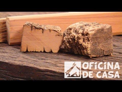 Identificar uma boa madeira