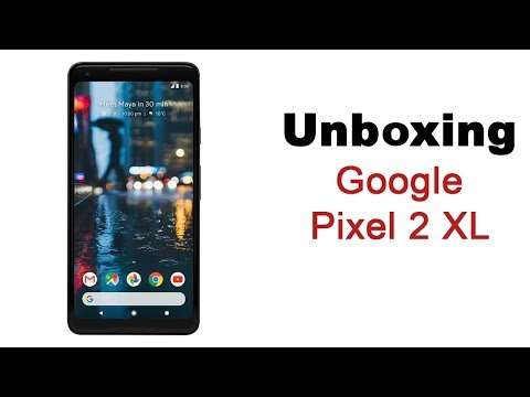 Google Pixel 2 XL Unboxing