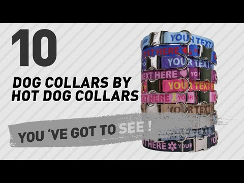 Dog Collars By Hot Dog Collars // Top 10 Most Popular