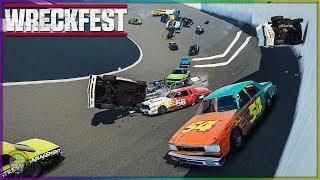 SPEEDBOWL INSANITY!!!   Wreckfest