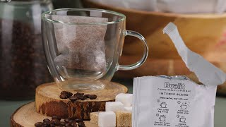 Dualit's Compostable Coffee Bags - barista-quality coffee in 2 minutes preview