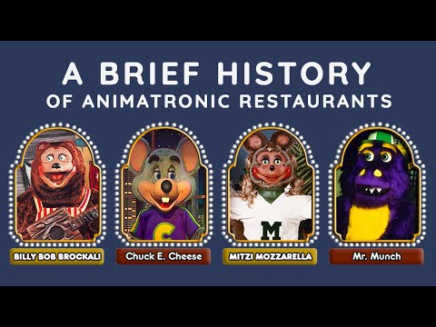 Who Started the Trend of Animatronic Restaurants?