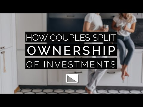 How Couples Split Ownership of Investments