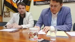 Беседа с Евгением Фёдоровым в ЦШ 22.06.2018