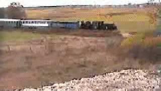 preview picture of video 'Świetokrzyska Kolejka Dojazdowa-X.03-skład z parowozem'
