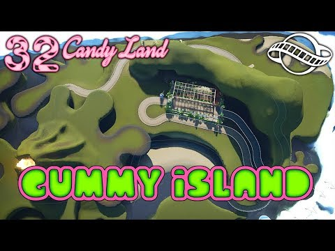Lets Build: Gummy Island! Candy Land 32 #PlanetCoaster
