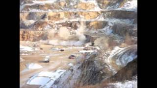 preview picture of video 'Robbantás - Blasting in Szár-hegy quarry, Polgárdi, Hungary'