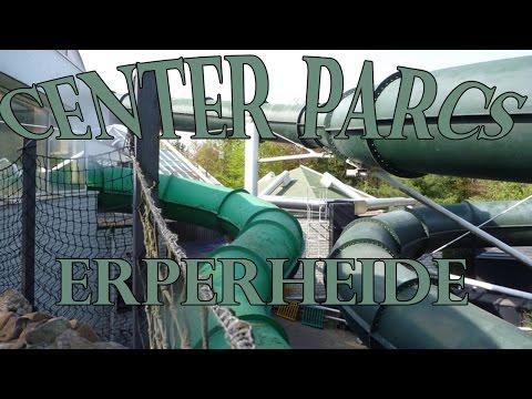 Alle glijbanen / Tous les toboggans / All waterslides Center Parcs Erperheide (B)