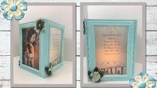 DIY Graduation Gift/Centerpiece for a Special Occasion (using Dollar Tree frames)