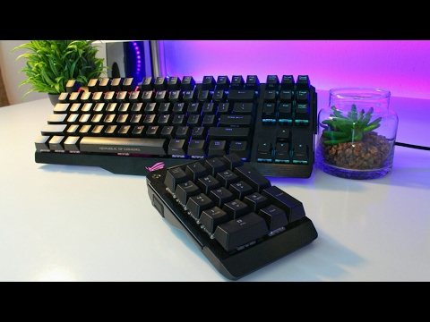The Coolest Keyboard I Have EVER Used ($250) – ASUS ROG Claymore Review