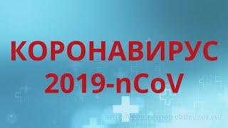 Коронавирус 2019-nCov: пути заражения, симптомы, профилактика.