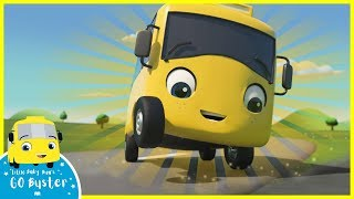 Magic Buster's Rainbow Super Power | Go Buster | Baby Cartoons | Kids Videos | ABCs and 123s