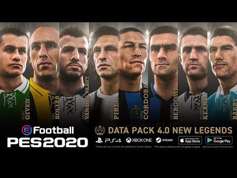 Data Pack 4.0 - eFootball PES 2020