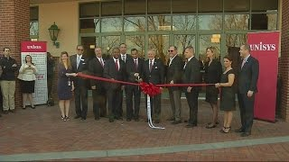 Unisys Cuts Ribbon In Downtown Augusta, Bringing 700 IT Jobs
