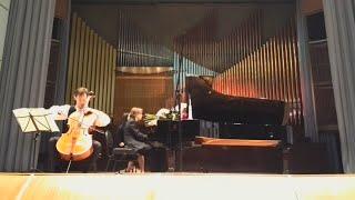 """Grand - Tango"" Astor Piazzolla. Alexey Kiselev (cello) and Alexander Musicians (piano)"