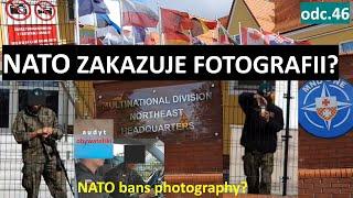 Jednostka NATO w Elblągu wywiesiła tablice – zakaz fotografowania. Jest jeden jednak bardzo uparty.