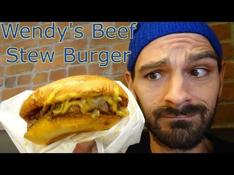Wendy's in Japan's Brioche Bistro Beef Stew Burger   January 12, 2017