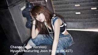 4Minute (Hyunah) - Change (Male version) w/ DL Link