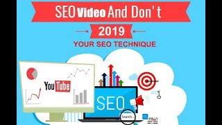 How to make SEO Video ranking factors on Youtube 2019